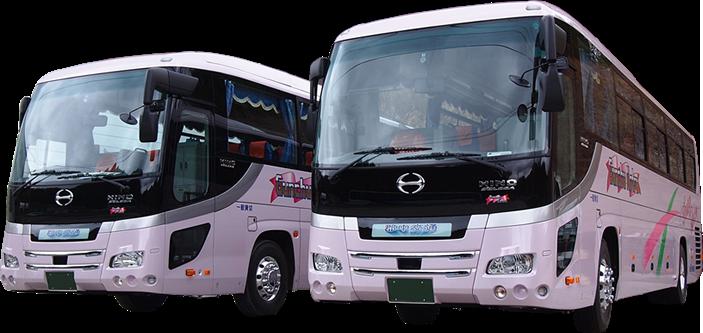 私達は送迎バスのプロフェッショナル企業です。