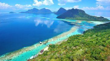 boruneo island
